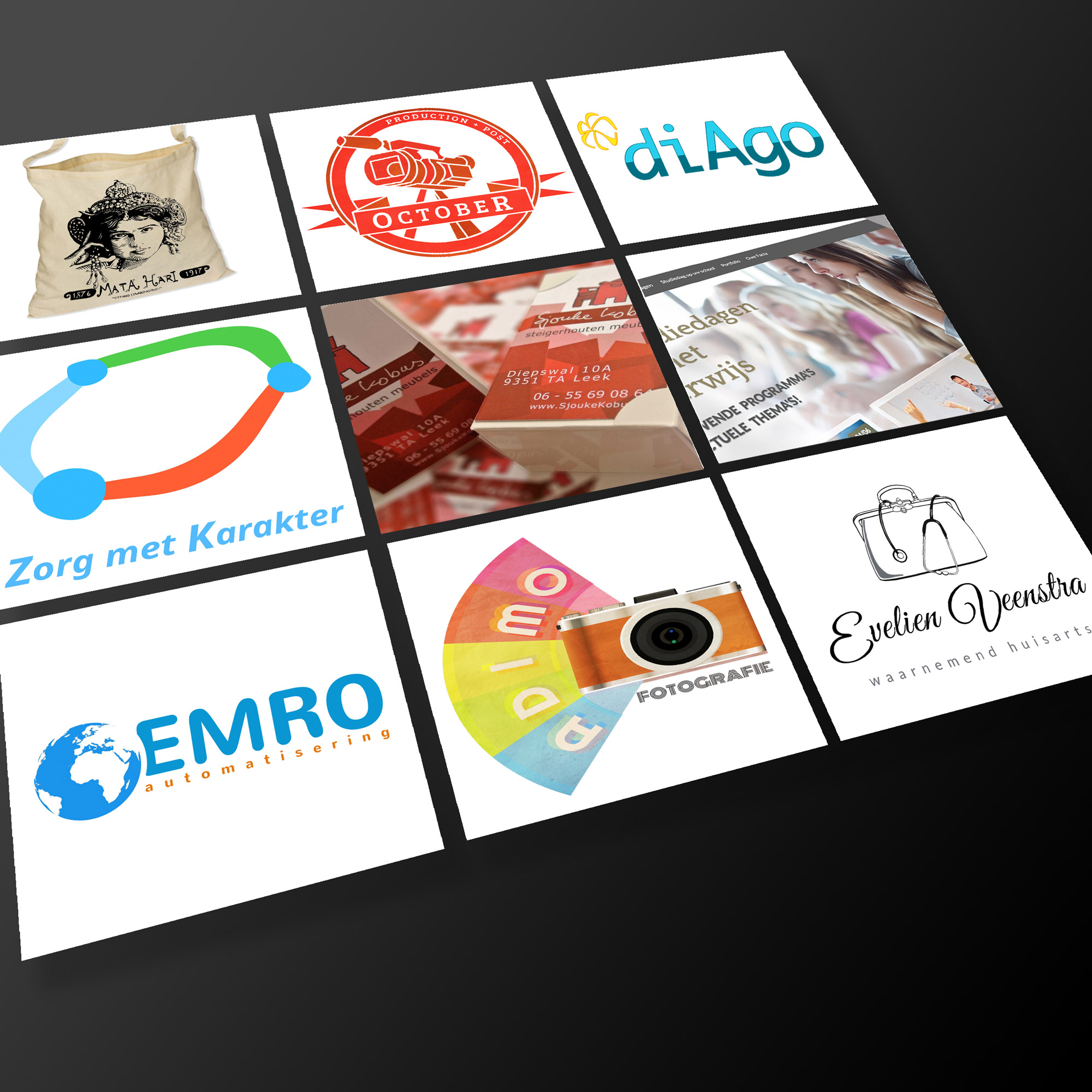 Logo ontwerp Studio Edward Kobus